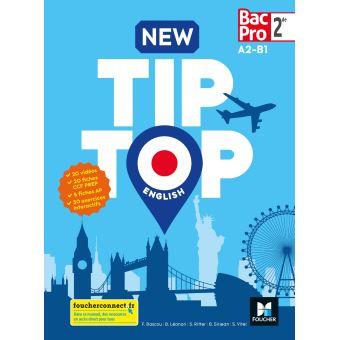L'anglais Tip Top en Bac Pro 2nd esthétique et cosmétique
